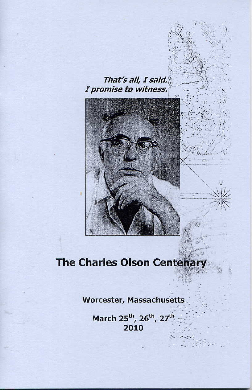 projective verse charles olson essay