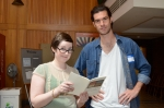 Erin Workman and NPF Graduate Assistant Jason Mitchell. 