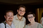 From L to R: Dale Enggass, Tyler Babbie, and Erin Workman. Photo (c)2012 by Star Black.