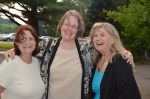 From L to R: NPF Business Manager Gail Sapiel, NPF Publications Specialist Betsy Rose, and Marlene Charron of UMaine Conference Services.  Photo (c)2012 by Star Black.