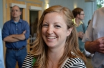 Poet and NPF Graduate Assistant Katie Fuller. 