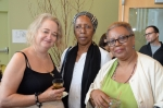 From L to R: Laura Hinton, Fahamisha Patricia Brown, and Patricia Spears Jones.  Photo (c)2012 by Star Black.