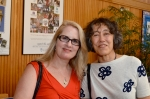 Jennifer Moxley and Mei-mei Berssenbrugge. 
