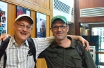 Norman Finkelstein and Peter O'Leary.  Photo (c)2012 by Star Black.